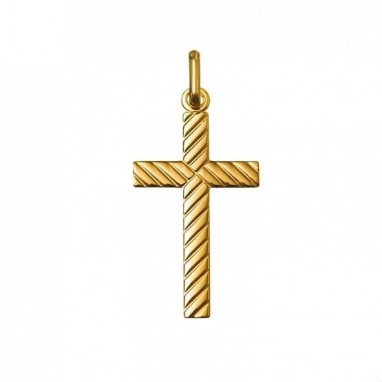 Colgante cruz en oro 18k o 9k (232003)