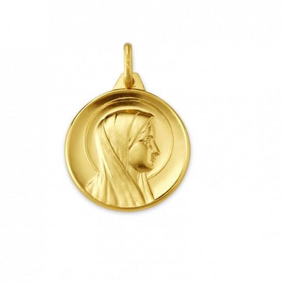 Medalla Virgen María manto y aureola (1391164)