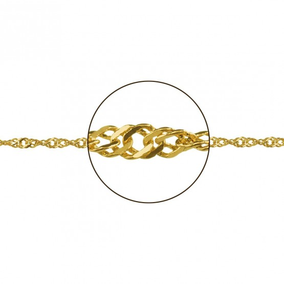 Cadena de oro diseño singapur (033185019)
