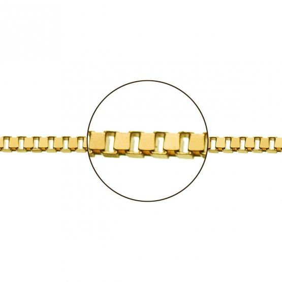 Cadena de oro amarillo 18k veneciana (033113054)
