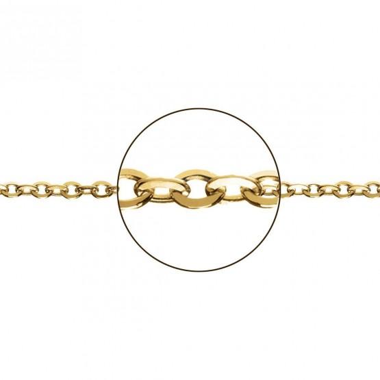 Cadena de oro en forma rolo (033282035)