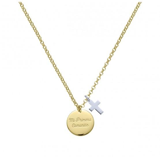 """Medalla de oro """"Mi Primera Comunión"""""""