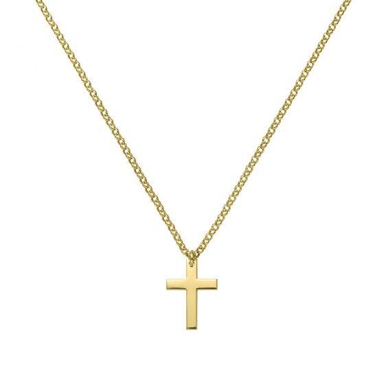 Medalla de oro comunión Cruz Clasíca (3A8307327)