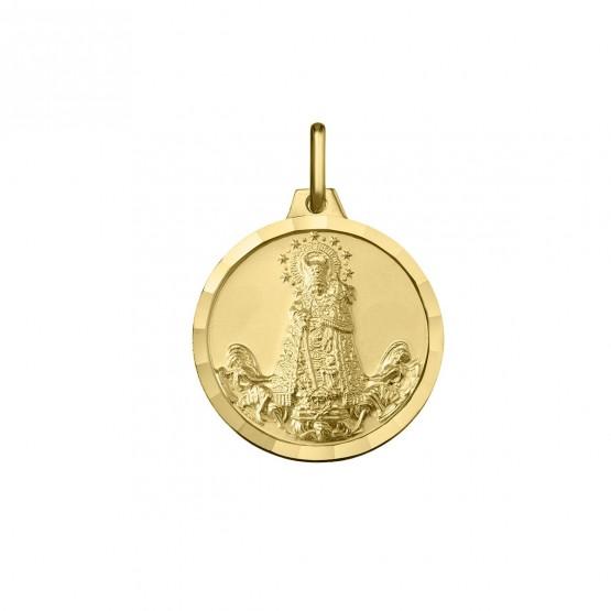 Medalla Virgen de los Desamparados en Oro 18k