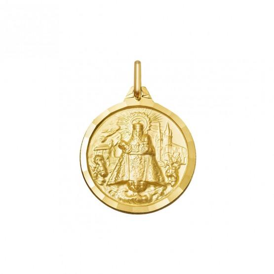 Medalla Virgen de Covadonga en oro