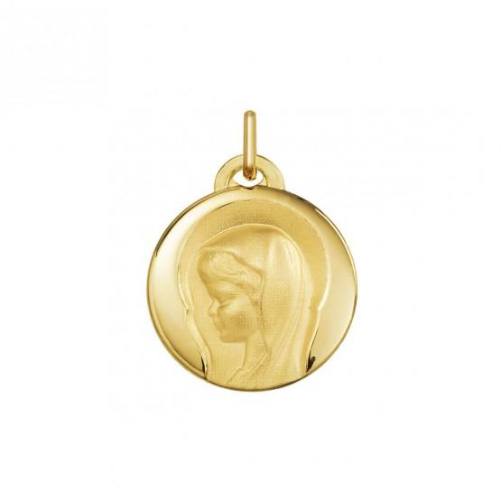 Medalla de comunión Virgen niña