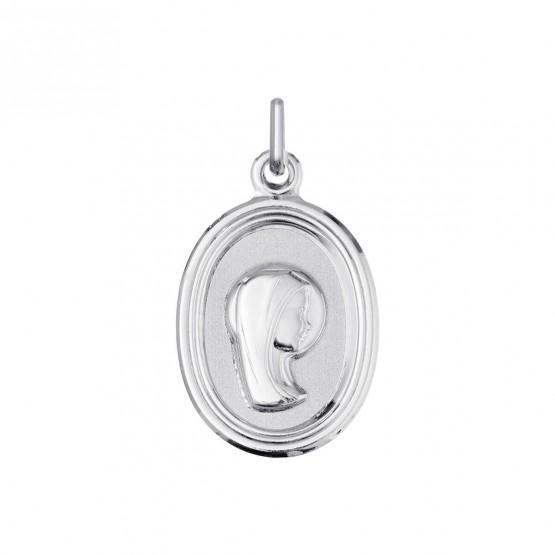 Medalla de comunión en plata