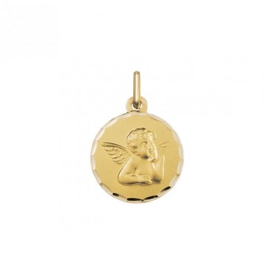 Medalla de oro angelito pensativo (1602454N)