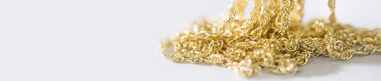 Cadenas de oro y plata para medallas o cruces | MiMedalla.es