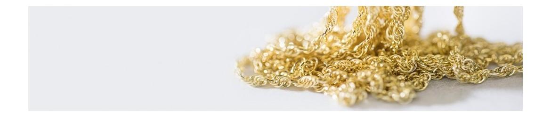 Cadenas de oro blanco y amarillo | MiMedalla.es