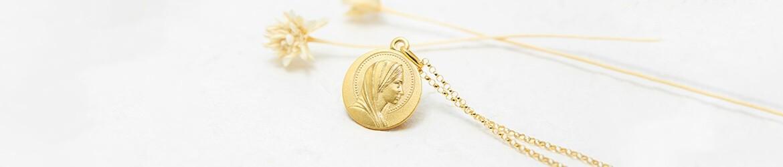 Medallas de oro con motivos religiosos hechas en España | Mimedalla.es