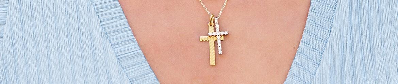 Cruces religiosas de plata | Hechas en España | mimedalla.es
